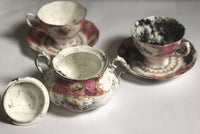 Sharon Norwood Tea Cup/saucer 1(heavily covered)