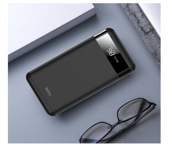 10000mah Power Bank Portable External Battery Pack Charger Dual USB Slim Powerbank For iPhone Xs Xiaomi Mi Phone Poverbank