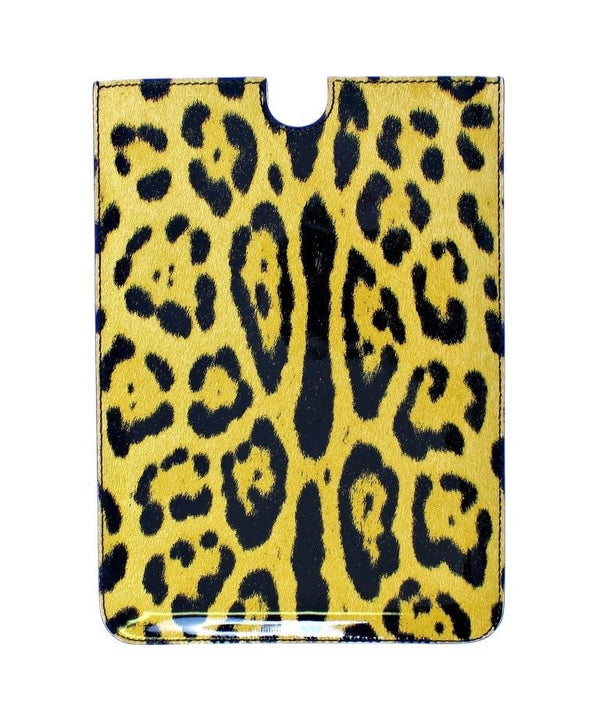 Leopard Leather iPAD Tablet eBook Cover Bag
