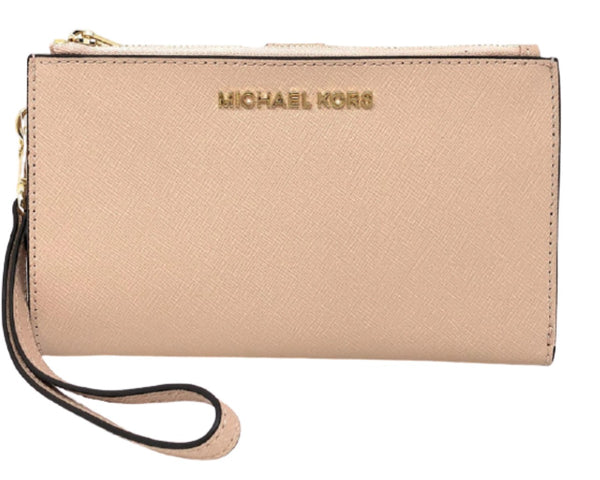 Michael Kors Jet Set Travel Large Double Zip Wristlet