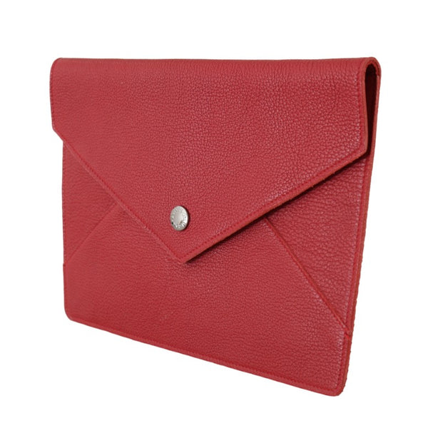 Red Leather Bag Tablet Case P Mini Cover Pouch