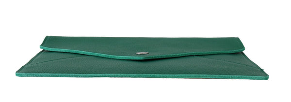 Green Tablet Case Pouch Green Leather Mini Cover Unisex
