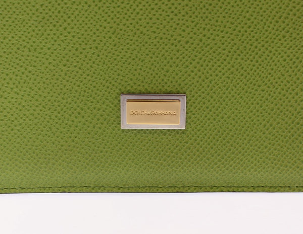 Green Leather iPAD Tablet eBook Cover