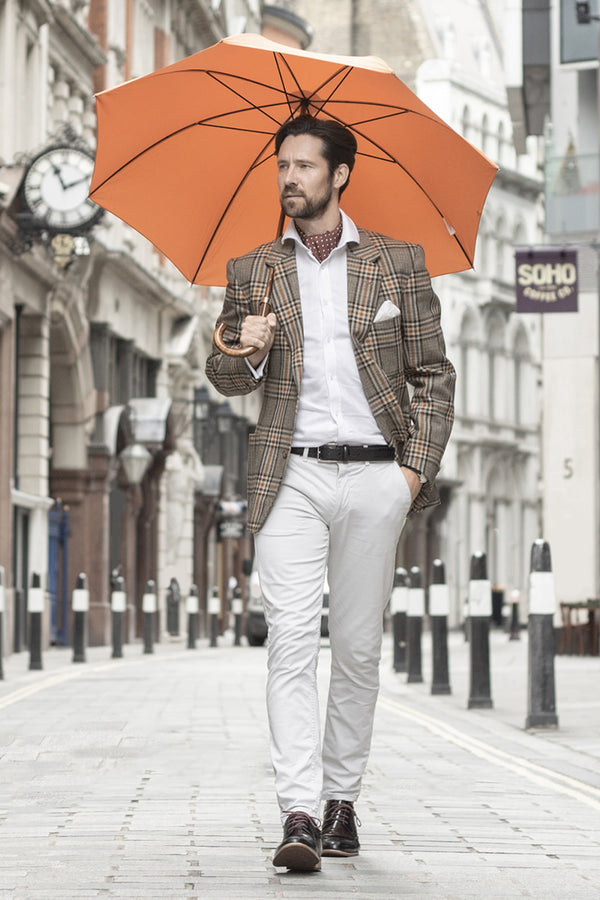 Classic Orange Umbrella