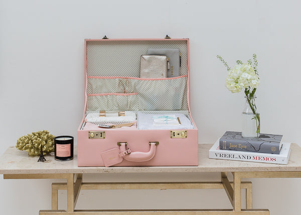 Large Memory Case in Blush Pink