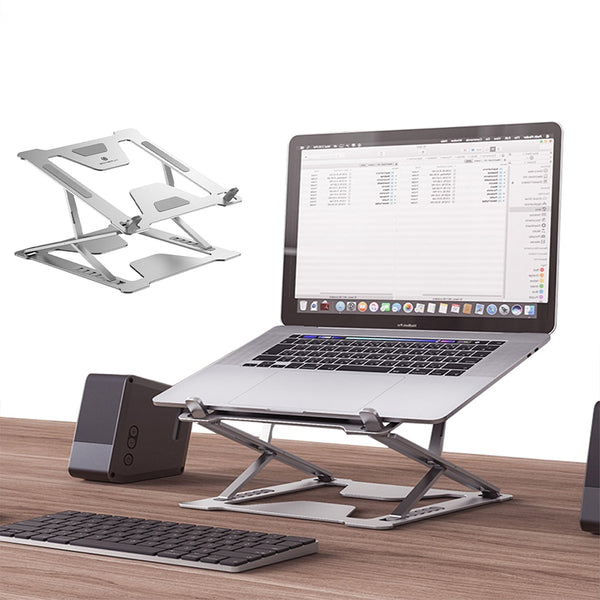 Desktop Laptop Holder For MacBook Air Pro 11-17 Inch Notebook Foldable Aluminium Alloy Laptop Stand Bracket For Notebook Support