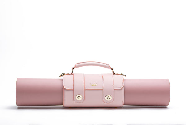 The Emmeline Yoga Mat Bag - Cherry blossom