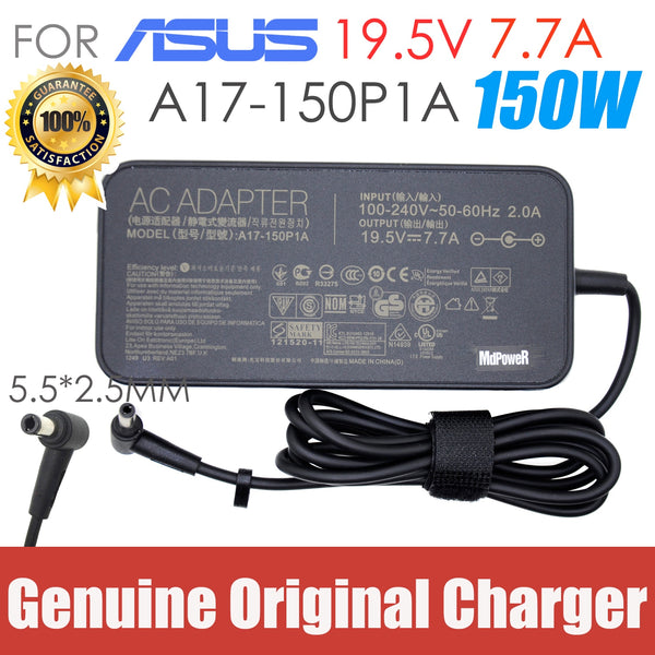 Genuine ADP-120ZB BB ADP-150NB D charger 19.5V 7.7A 150W ac power adapter for ASUS A17-150P1A G73SW G71G G74 G72G G73S X73 GL503