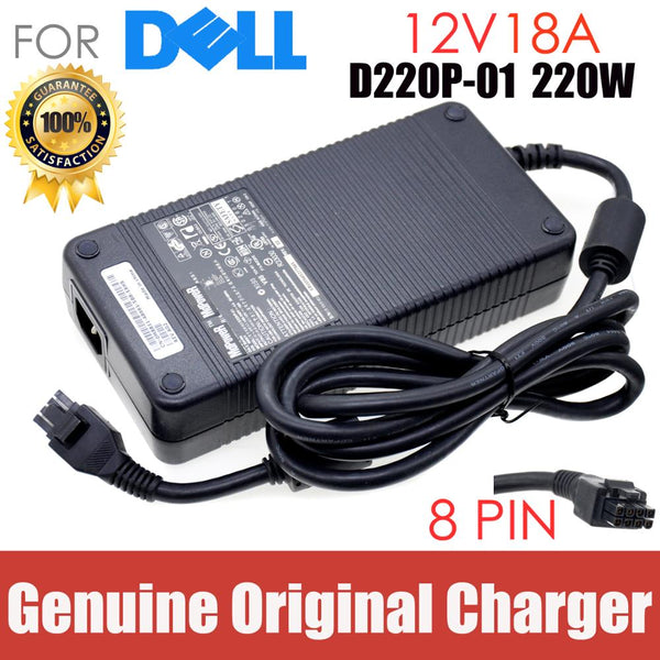 Genuine D220P-01 DA2 12v 18a Laptop Adapter Charger For DELL GX620 ADP-220AB B MK394 D3860 GX755 A269 Y2515 AC Power charger