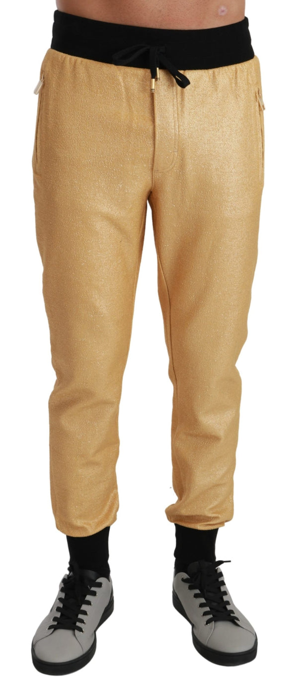 Gold Pig of the Year Trousers Pants