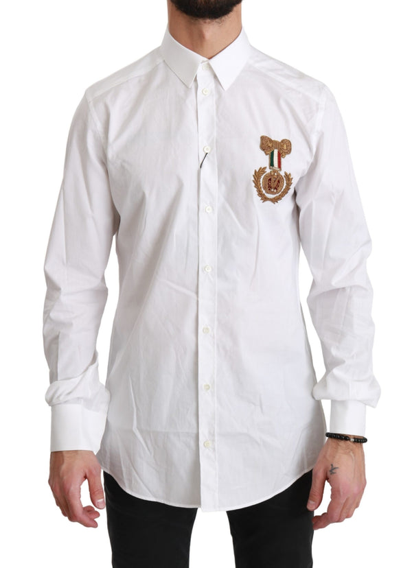 White MARTINI Gold Medal Cotton Shirt