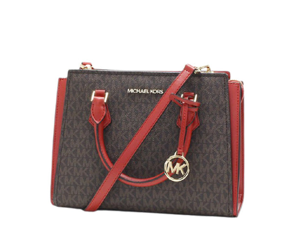 Michael Kors Houston Medium Double Zip Satchel