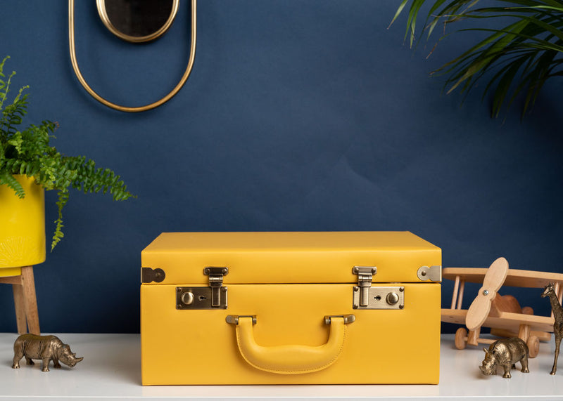 Memory Case in Mustard Yellow