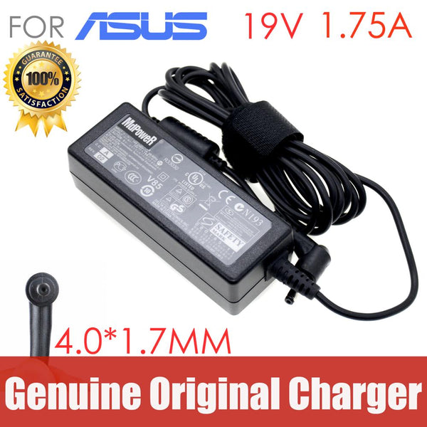Original For ASUS laptop AC adapter charger 19V 1.75A 33W 4.0*1.35mm S200E X201E X403M E403N  E402 E203N X200M X202E