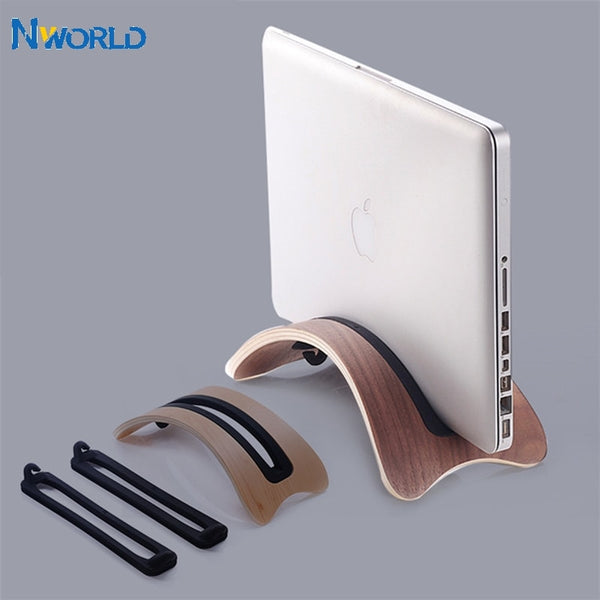 Solid Wood Computer Stand Laptop Stand 1.31cm For Macbook 1.8cm For Macbook Air 2.4cm For Macbook Pro