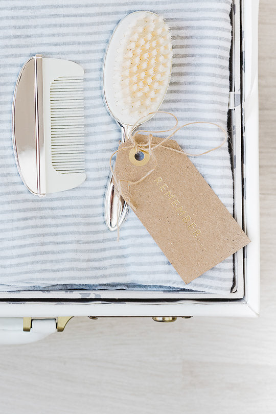 Memory Case in Ivory White