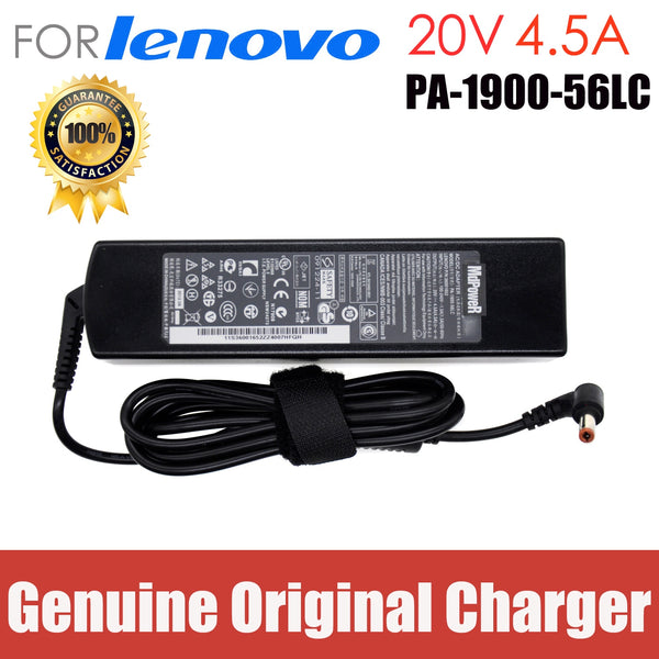 original 20V 4.5A 90W AC Adapter Laptop Charger For lenovo ADP-90DD B B450 B460 B460E B465 B470 B575 C445 CPA-A090 E43A E43G
