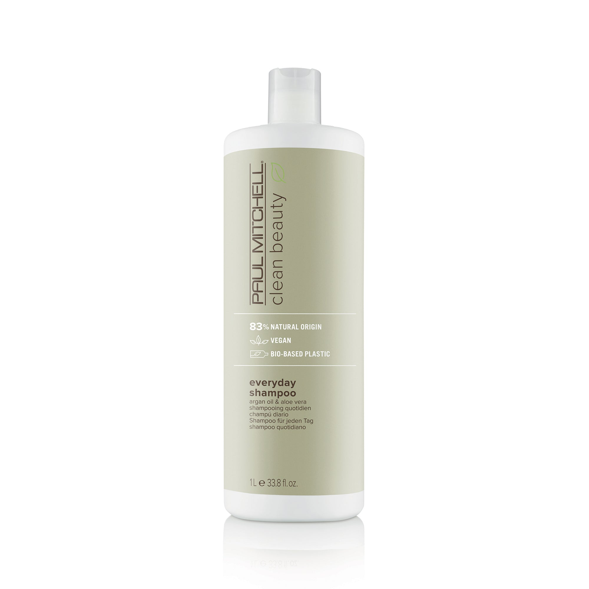 Clean Beauty by Paul Mitchell (1000 ml) Everyday Shampoo