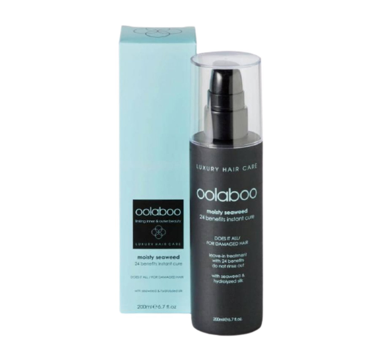 Oolaboo Moisty Seaweed 24 Benefits Instant Cure 200 ml