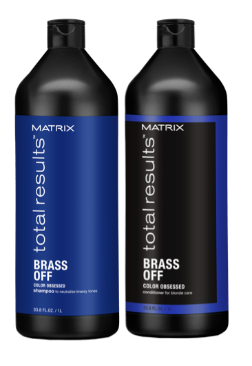 Matrix Total Results Brass Off Shampoo And Conditioner 1l Duo