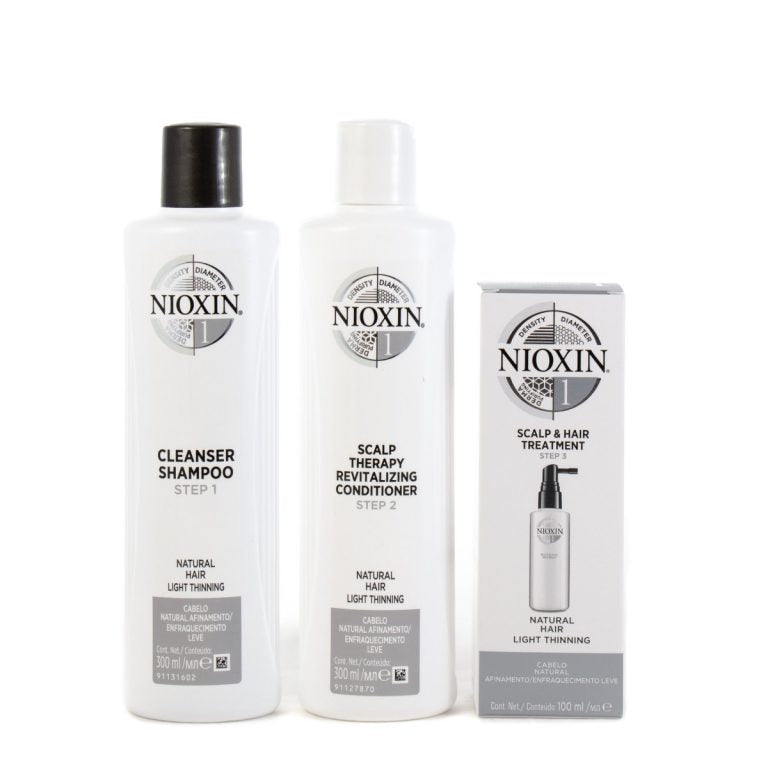 Nioxin System 1 Duo 300ml Shampoo And Conditioner