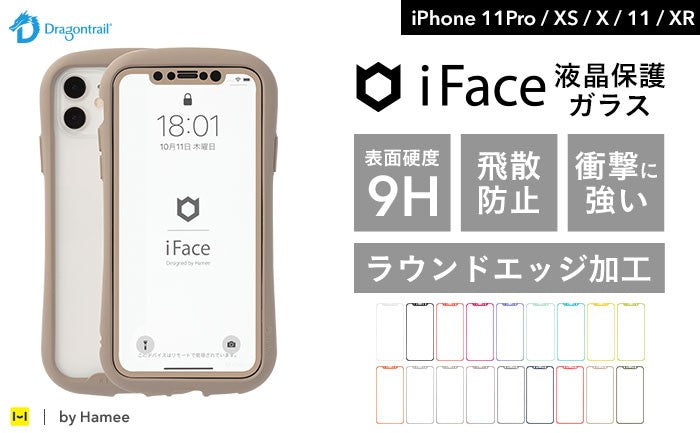 iPhone XS/X用iFaceフィルム。