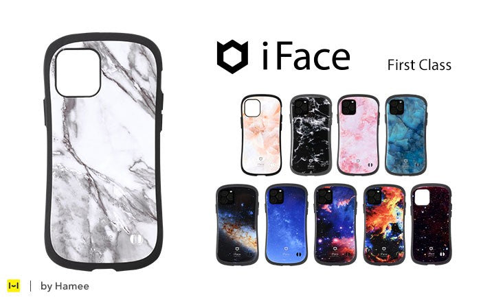 [iPhone 12/12 mini/12 Pro/11 Pro/11/11 Pro Max専用] iFace First Class Marble / Universe ケース【iFace公式通販】【保証付き】
