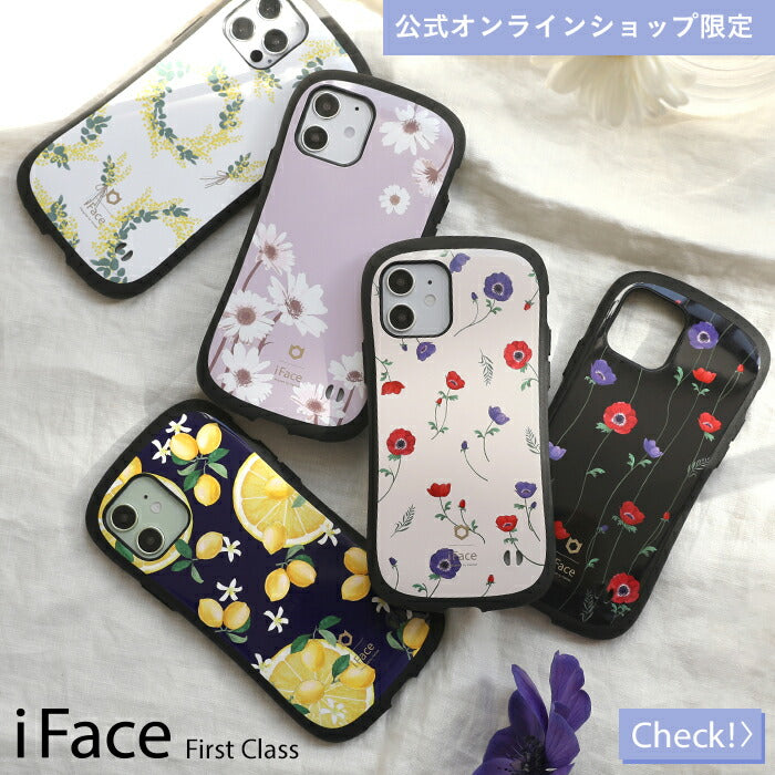 iFace Flower Design Case  iPhoneケース 人気 おしゃれ