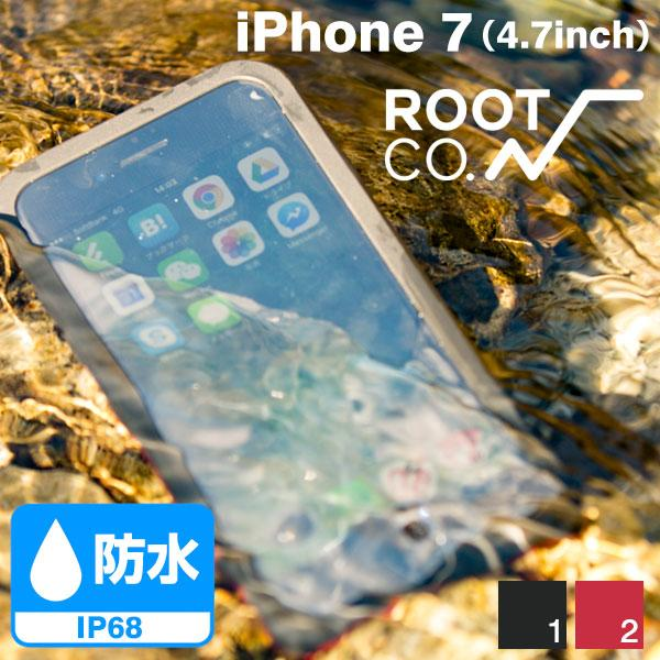 [iPhone 8/7専用]ROOT CO. H2O Water & Shock Proof Hard Shell./IP68/iPhone 8/7