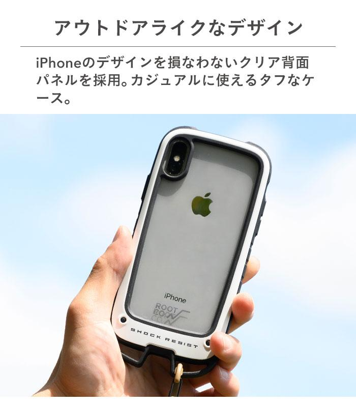 [iPhone 12 Pro Max専用]ROOT CO. GRAVITY Shock Resist Case +Hold.