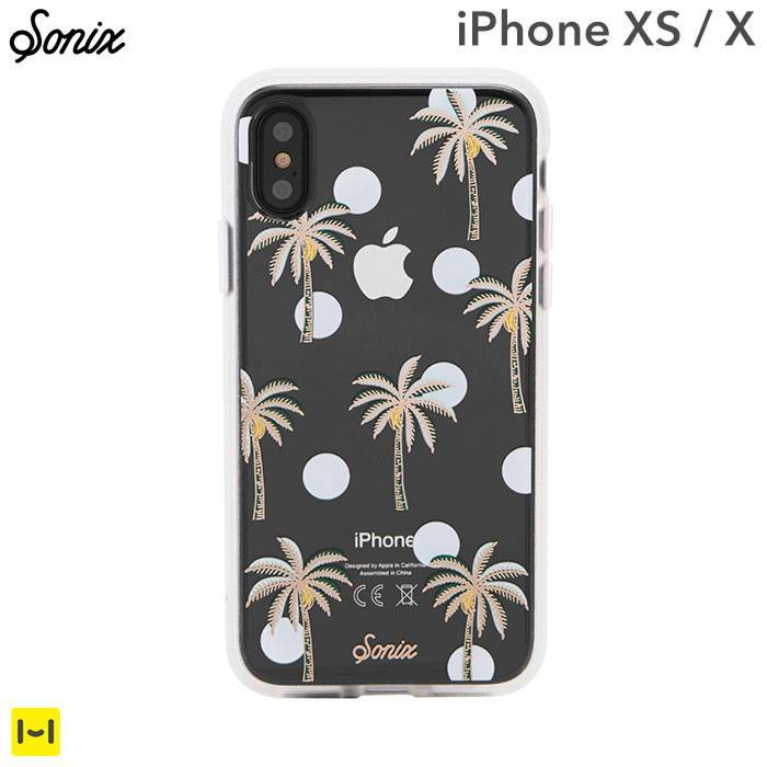 [iPhone XS/X専用]Sonix CLEAR COAT CASE(BORA BORA)