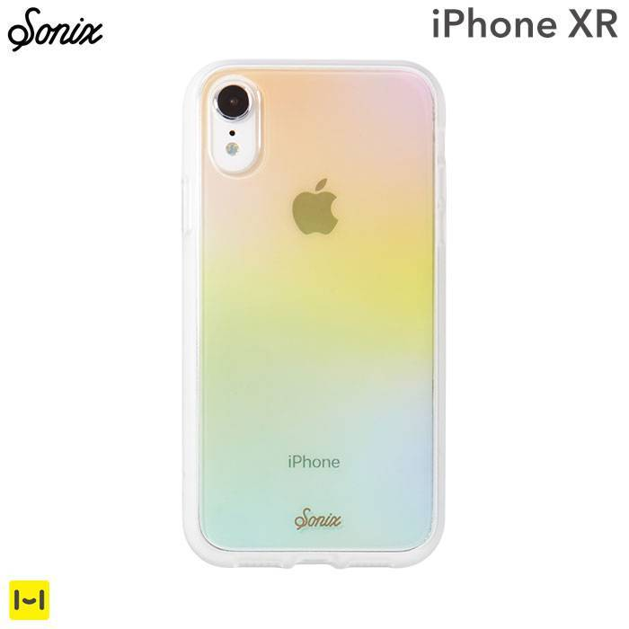 [iPhone XR専用]Sonix CLEAR COAT CASE(COTTON CANDY)
