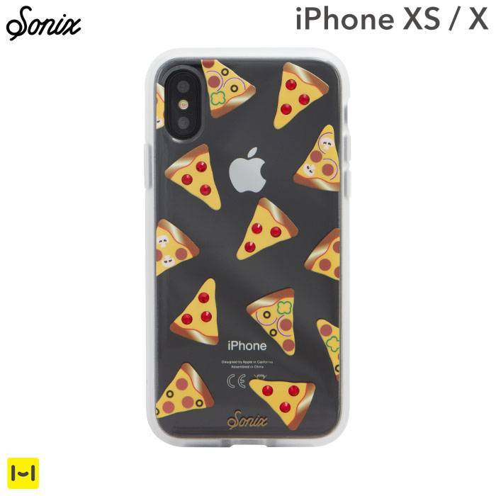 [iPhone XS/X専用]Sonix CLEAR COAT CASE(RHINESTONE SLICE UP YOUR LIFE)