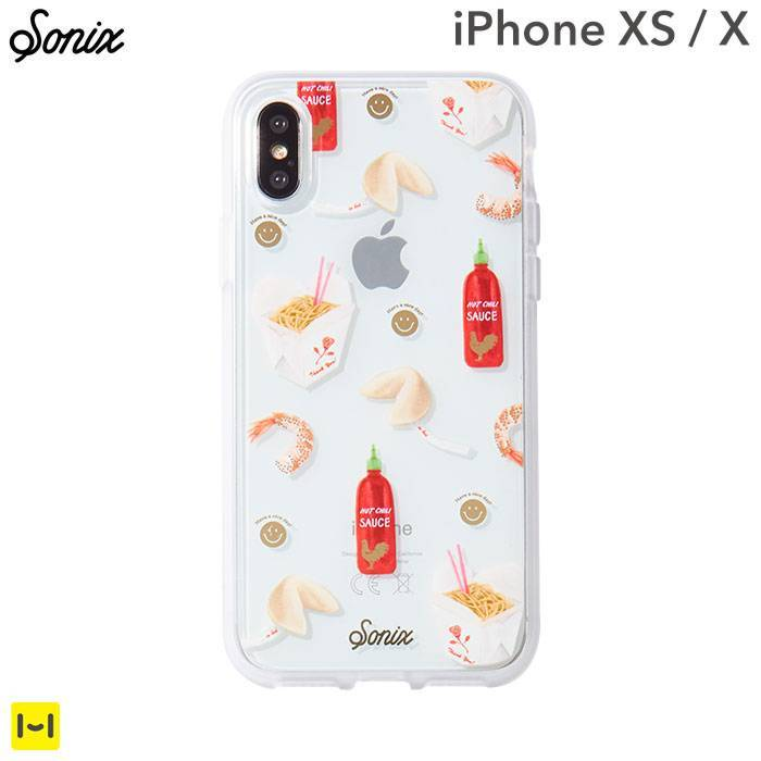 [iPhone XS/X専用]Sonix CLEAR COAT CASE(TAKE OUT)