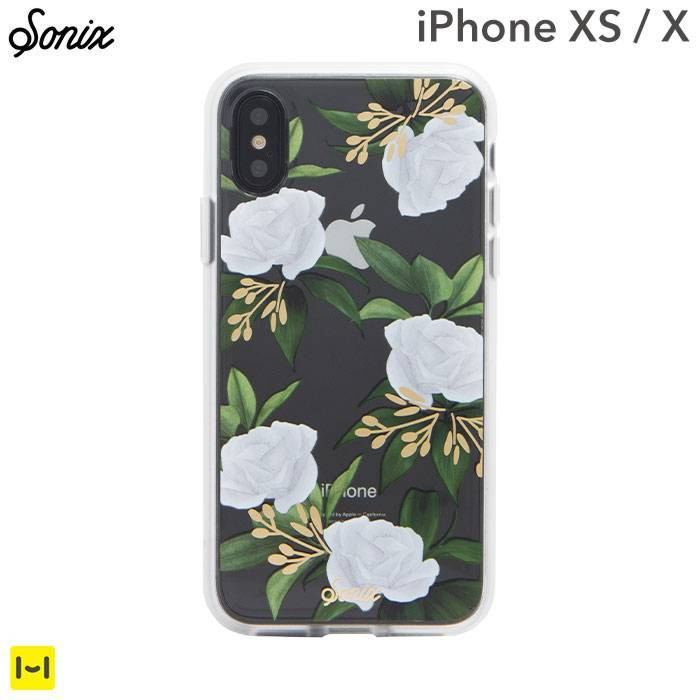 [iPhone XS/X専用]Sonix CLEAR COAT CASE(PETUNIA)