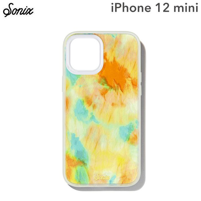 [iPhone 12 mini専用]Sonix AntiMicrobial Clear Coat Case(ORANGE GLOW)
