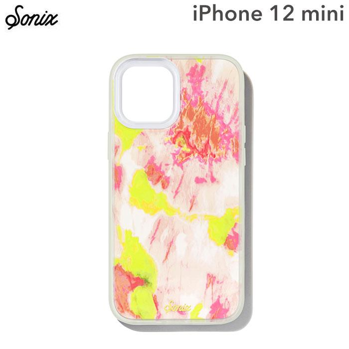 [iPhone 12 mini専用]Sonix AntiMicrobial Clear Coat Case(WATERMELON GLOW)