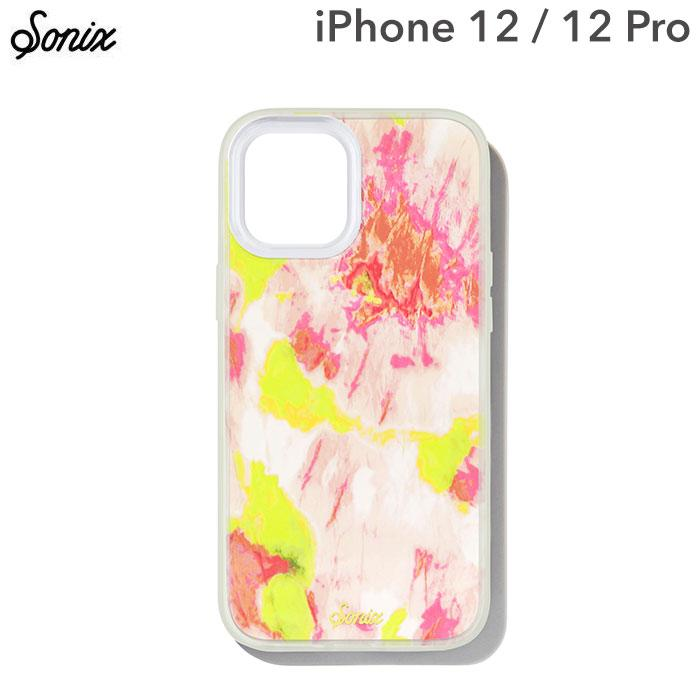 [iPhone 12/12 Pro専用]Sonix AntiMicrobial Clear Coat Case(WATERMELON GLOW)