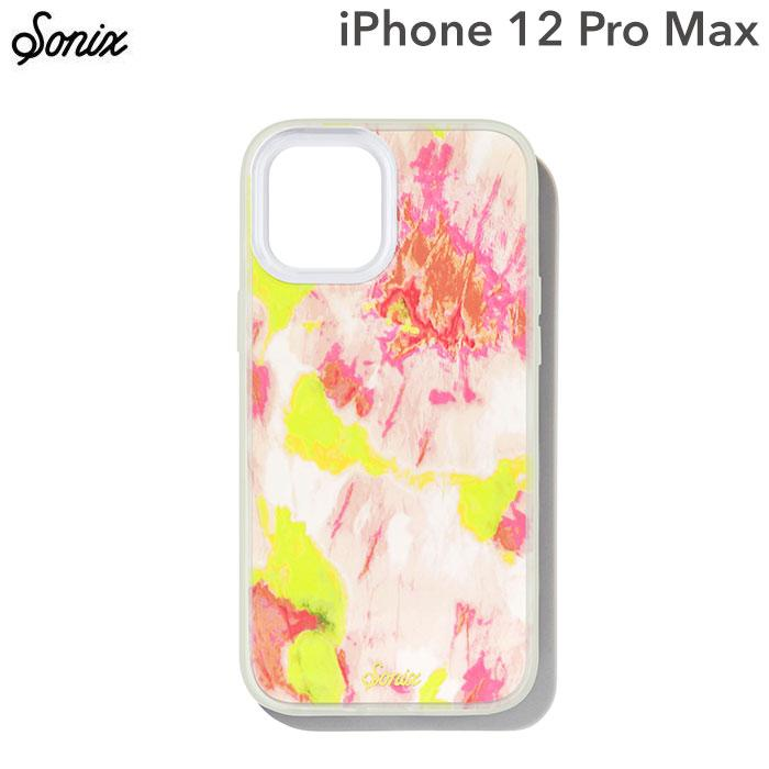 [iPhone 12 Pro Max専用]Sonix AntiMicrobial Clear Coat Case(WATERMELON GLOW)