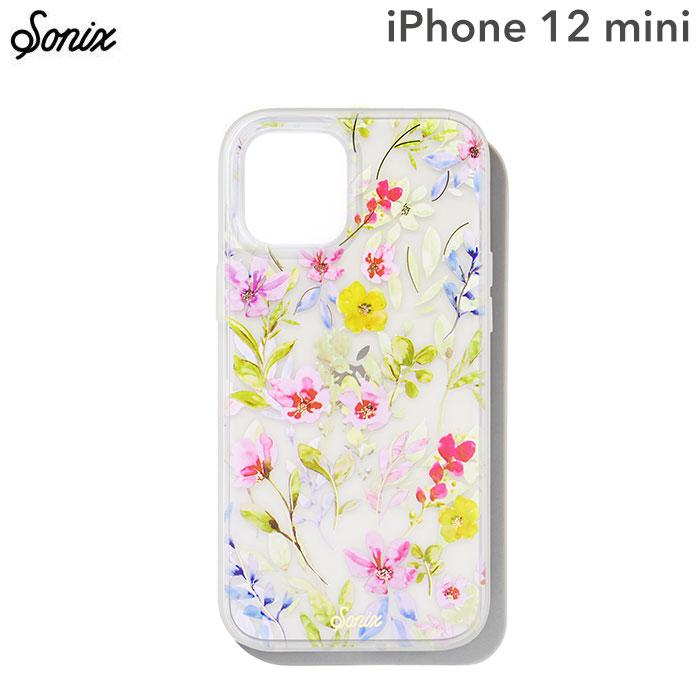 [iPhone 12 mini専用]Sonix AntiMicrobial Clear Coat Case(PRAIRIE FLORAL)