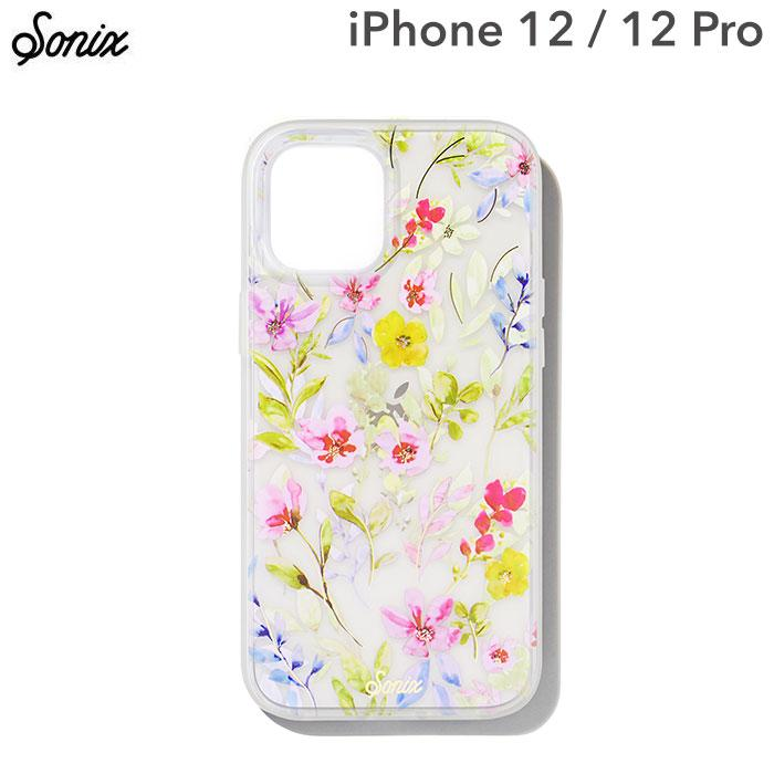 [iPhone 12/12 Pro専用]Sonix AntiMicrobial Clear Coat Case(PRAIRIE FLORAL)