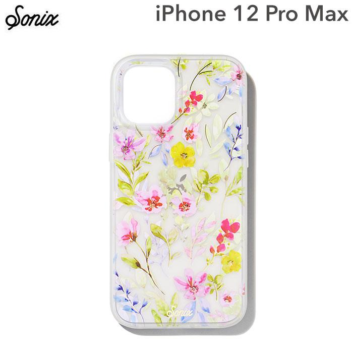 [iPhone 12 Pro Max専用]Sonix AntiMicrobial Clear Coat Case(PRAIRIE FLORAL)