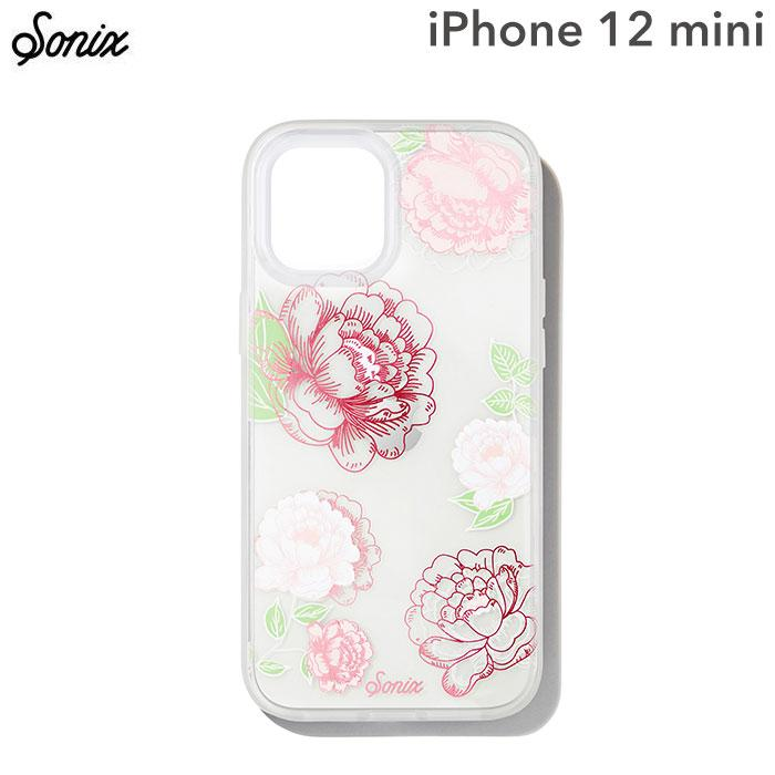 [iPhone 12 mini専用]Sonix AntiMicrobial Clear Coat Case(FRENCH ROSE)