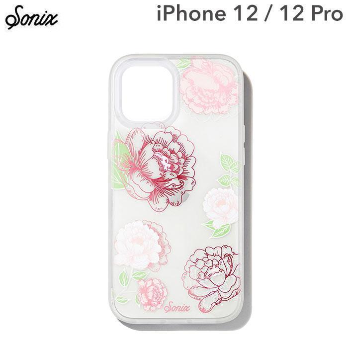 [iPhone 12/12 Pro専用]Sonix AntiMicrobial Clear Coat Case(FRENCH ROSE)