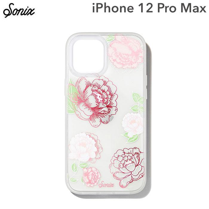 [iPhone 12 Pro Max専用]Sonix AntiMicrobial Clear Coat Case(FRENCH ROSE)