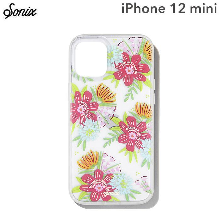 [iPhone 12 mini専用]Sonix AntiMicrobial Clear Coat Case(WILDFLOWER BOUQUET)