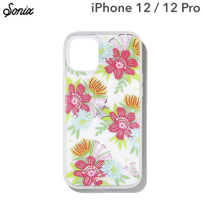 [iPhone 12/12 Pro専用]Sonix AntiMicrobial Clear Coat Case(WILDFLOWER BOUQUET)