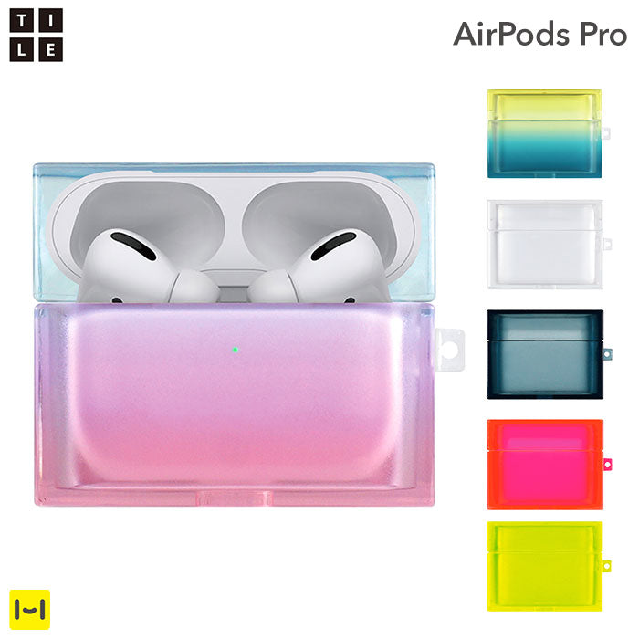 [AirPods Pro専用]EYLE スクエア型AirPods Proケース TILE SOFT COCKTAIL