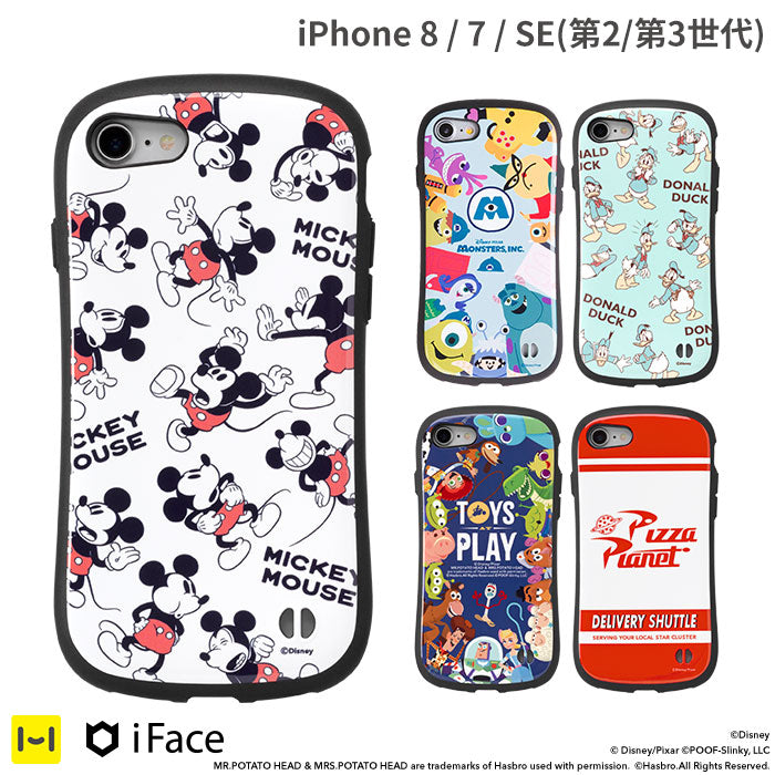 [iPhone 8/7/SE(第2世代)専用] ディズニー/ピクサーキャラクター iFace First Class ケース
