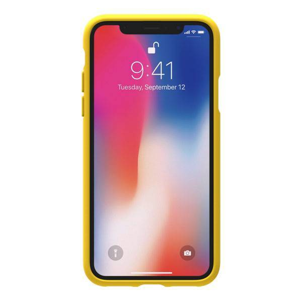[iPhone XS/X ケース]adidas Originals Adicolor Moulded Case(Yellow)